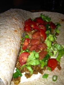 Gardein Veggie Ground Tacos with Tofutti Sour Cream