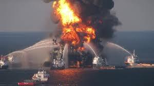 Oil Drill Fire