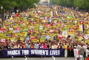 Womens Rights March 2009